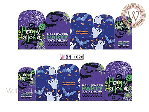 Halloween Water Slide Nail Art Decals - 1pc (BN-1028)
