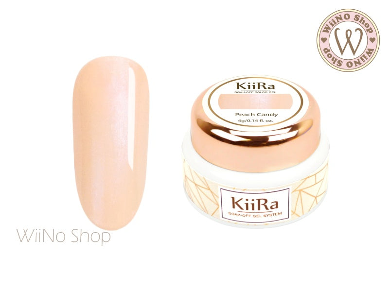 KiiRa Color Gel - Peach Candy