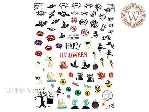 Halloween Adhesive Nail Art Sticker - 1 pc (CA-094)