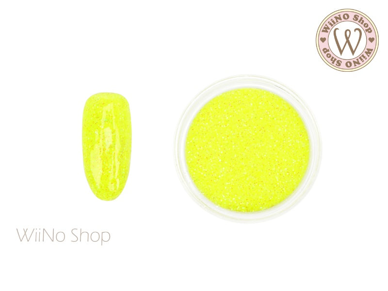 Sparkle Neon Yellow Glitter Dust (B57)