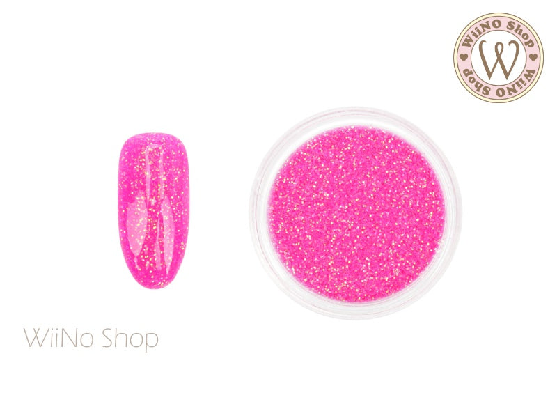 Sparkle Neon Hot Pink Glitter Dust (B60)