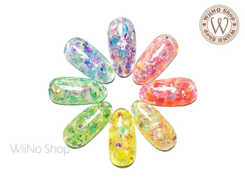 Color Rainbow Ice Mylar Glitter