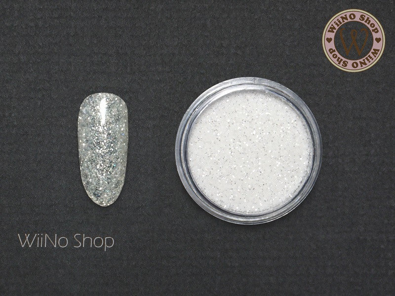 Shine Clear White Glitter Dust (B37)
