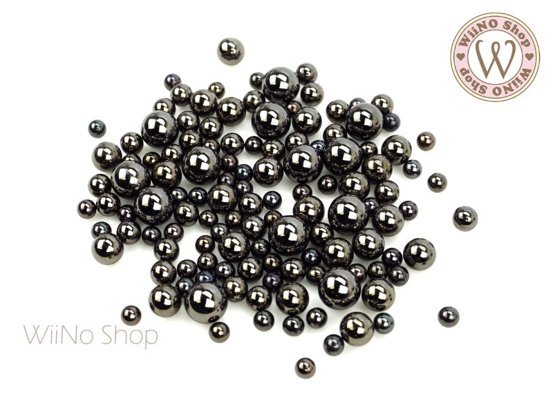 Gunmetal Chrome Beads (4/5/6/8mm)