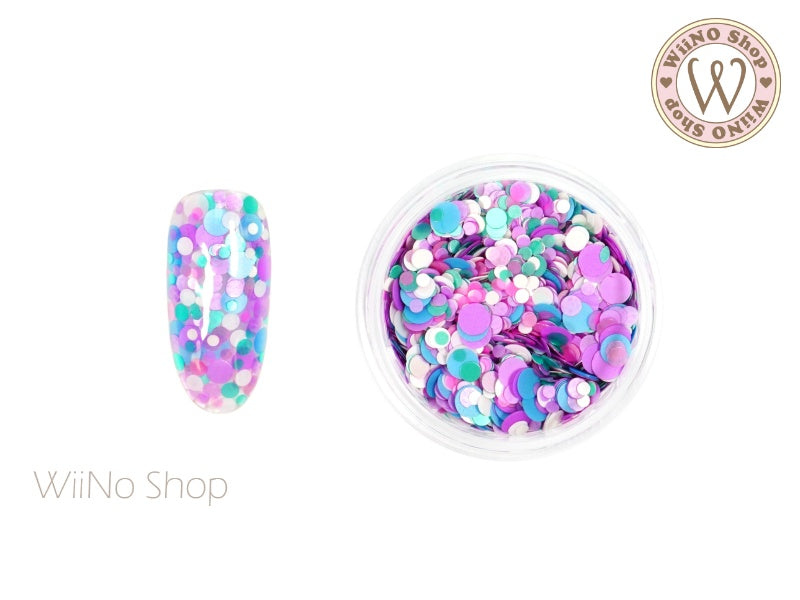 Round Dots Mixed Glitter (RM08)