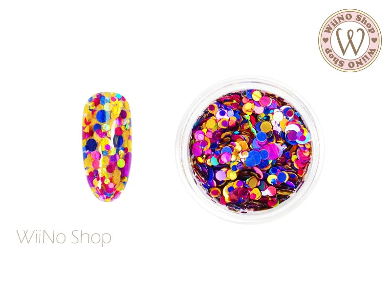Round Dots Mixed Glitter (RM11)
