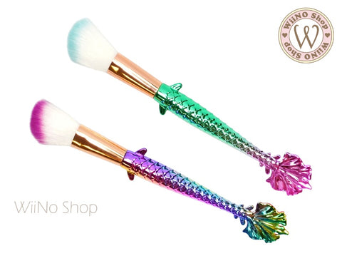 Mermaid Angle Powder Brush - 1 pc