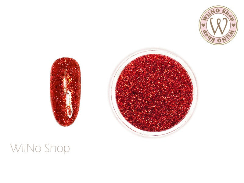 Candy Red Glitter Dust (B43)
