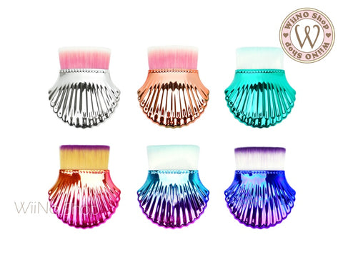 Shell Dust Makeup Brush - 1 pc