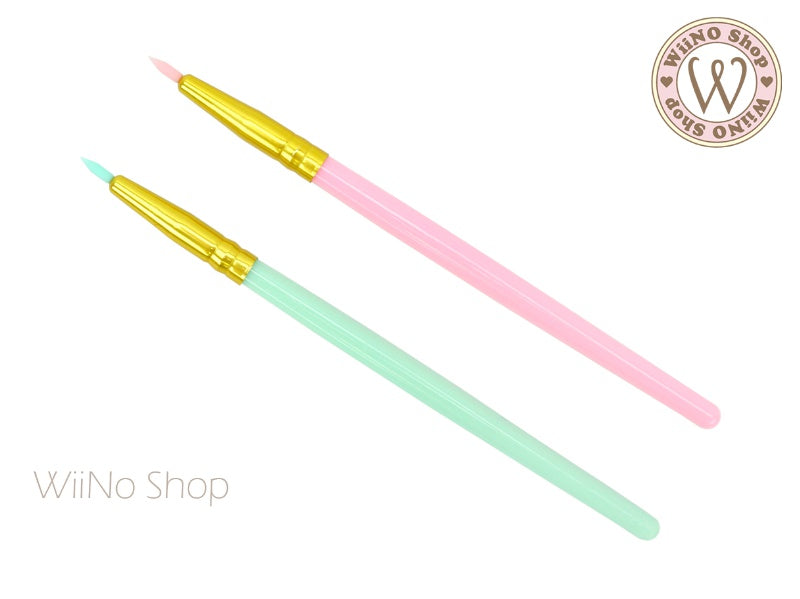 Jewelry Silicone Point Detail Gel Brush - 1 pc