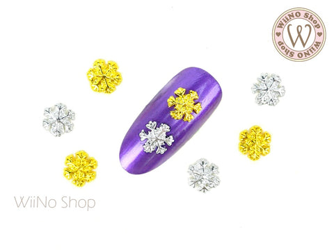 Small Snowflake Nail Art Metal Charm - 2 pcs (SN02)