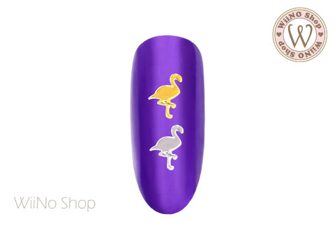Flamingo Ultra Thin Nail Art Metal Decoration- 25 pcs