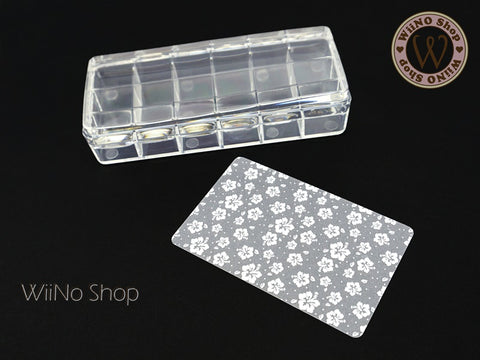 XXL Rectangle Jelly Nail Art Stamper & Scraper - 1 set
