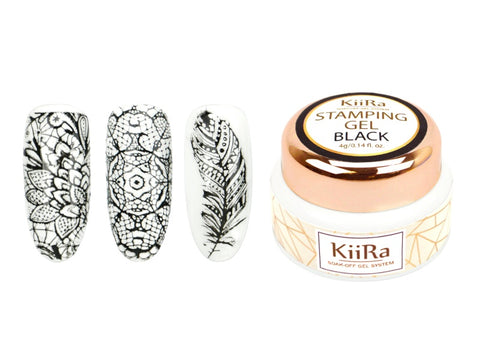 KiiRa Stamping Gel - Black