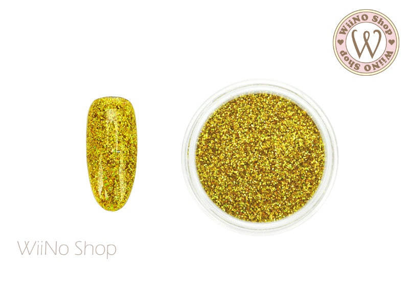 Yellow Gold Holographic Glitter Dust (BL09)