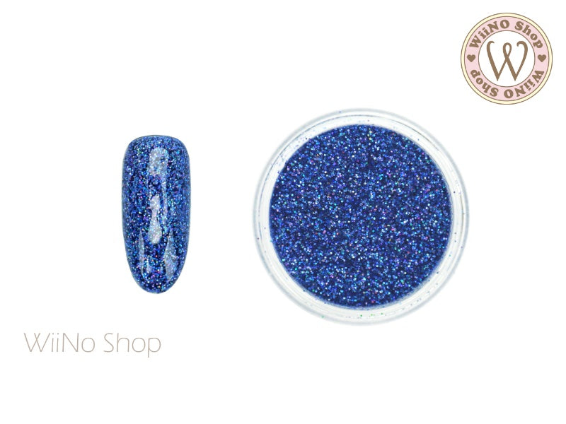 Galaxy Blue Holographic Glitter Dust (BL15)