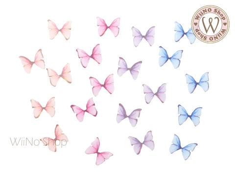 Mesh Butterfly Nail Art Decoration