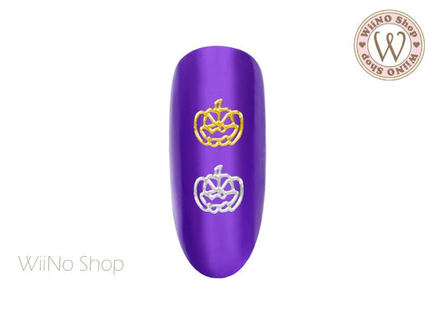 Pumpkin Ultra Thin Nail Art Metal Decoration - 25 pcs (PK02)