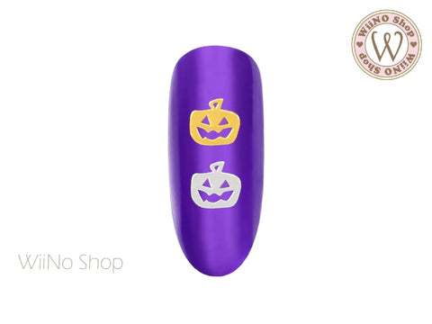 Pumpkin Ultra Thin Nail Art Metal Decoration - 25 pcs (PK01)