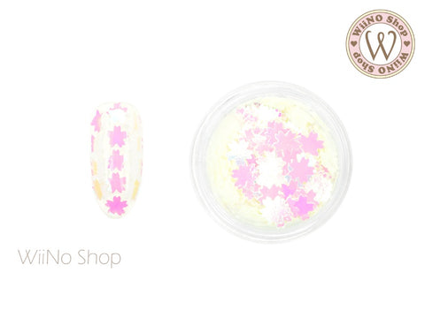 Pink Dream White Cherry Blossom Glitter (CB02)