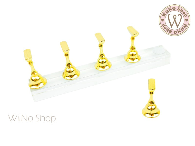 Acrylic Magnetic Nail Tips Display Practice Stand - 1 set