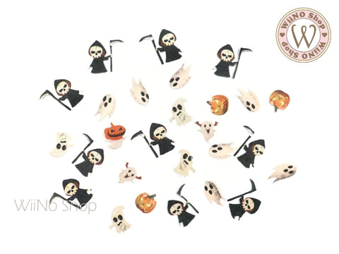 Death Reaper Halloween Nail Art Sequin Decoration (H09)