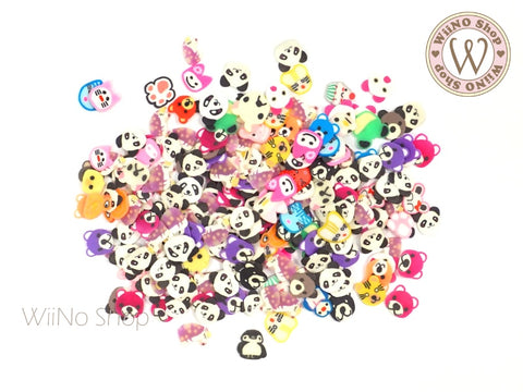 Animal Mixed Polymer Fimo Slices Nail Art Decoration