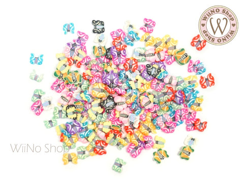 Butterfly Mixed Polymer Fimo Slices Nail Art Decoration