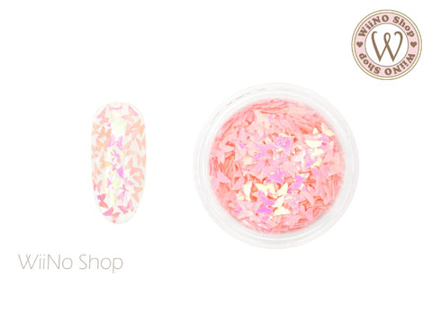 Pink Candy Butterfly Glitter (BF06)