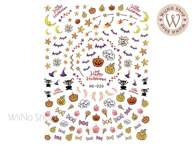 Halloween Adhesive Nail Art Sticker - 1 pc (HC-020)