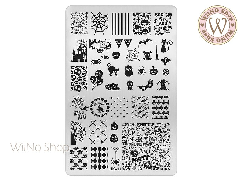 HK-11 Nail Art Stamping Plate Template