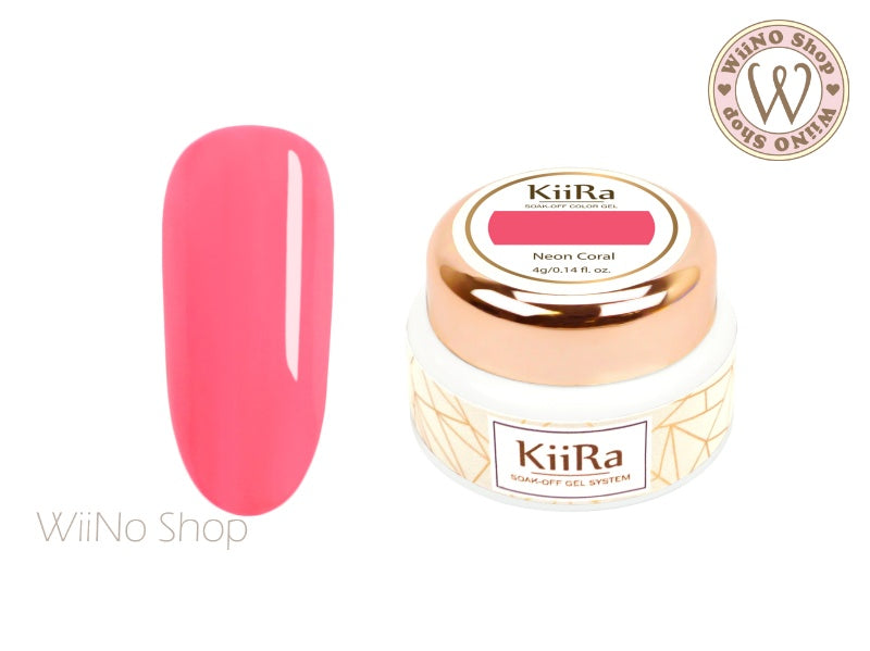KiiRa Color Gel - Neon Coral