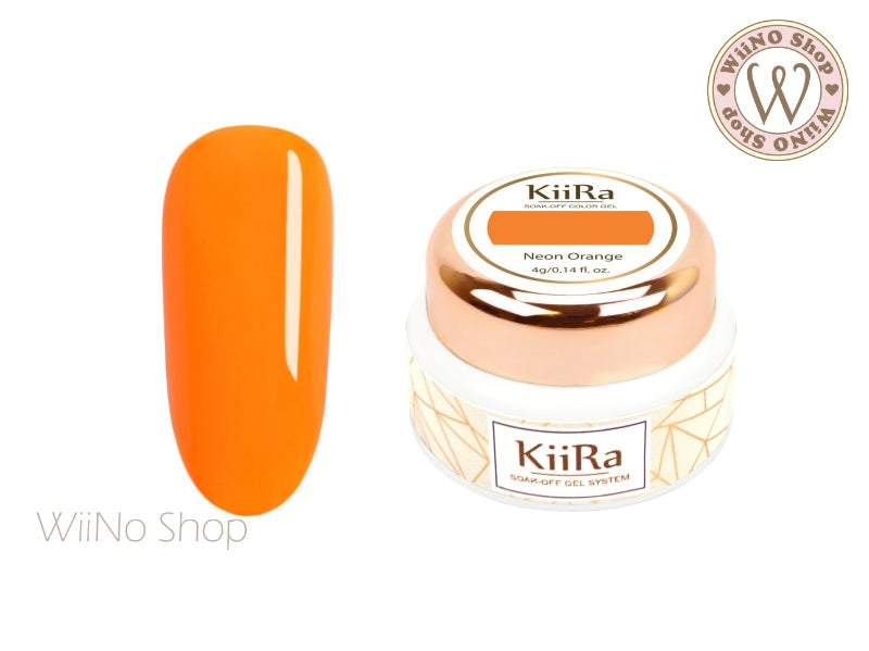 KiiRa Color Gel - Neon Orange