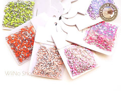 1.5 x 3.5mm Navette Marquise Metal Studs Nail Art - 100 pcs (choice of 9 colors)