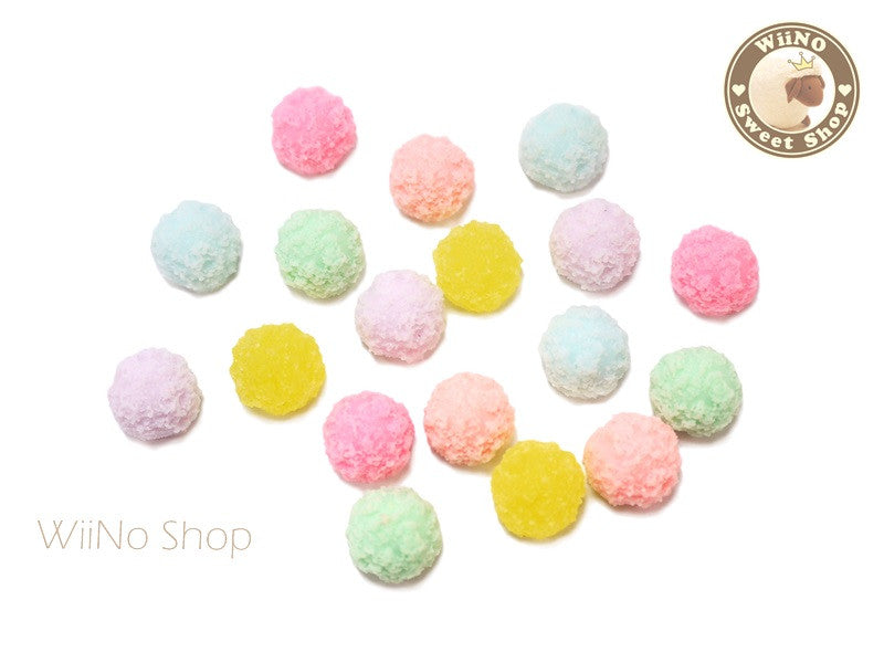 Kawaii Sugar Candy Cabochons Deco - 4 pcs
