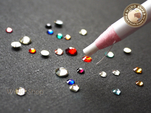 Rhinestone Pick Up Pencil Nail Art Rhinestone Picking Tool - 1 pc