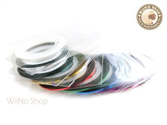 10 Colors Metallic Nail Art Striping Tapes Line