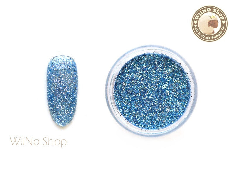 Steel Blue Glitter Dust (B28)