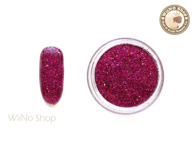 Maroon Red Holographic Glitter Dust (BL04)