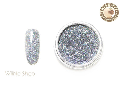 Silver Holographic Glitter Dust (BL01)