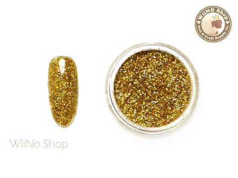 Gold Holographic Glitter Dust (BL02)