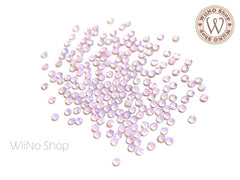ss8 Pink Opal Crystal Round Flatback - 100 pcs