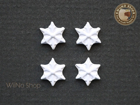 White Star Nail Metal Charm Nail Art - 2 pcs