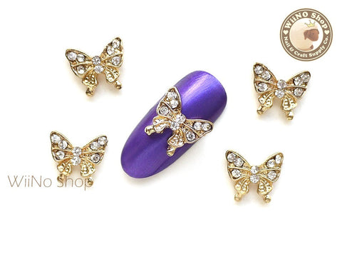 Butterfly Nail Metal Charm Nail Art - 2 pcs