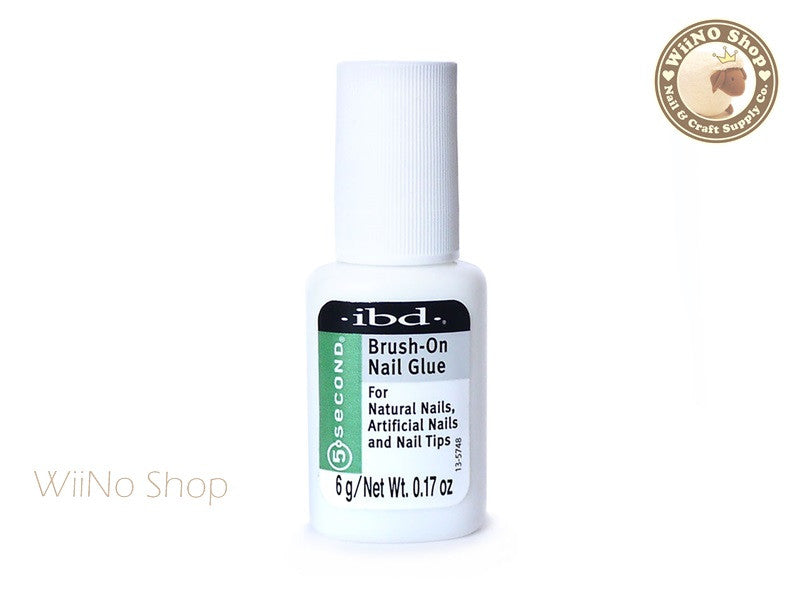 ibd 5 Second Brush-On Nail Glue - 1 pc