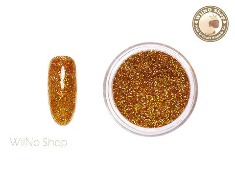Orange Gold Glitter Dust (B35)