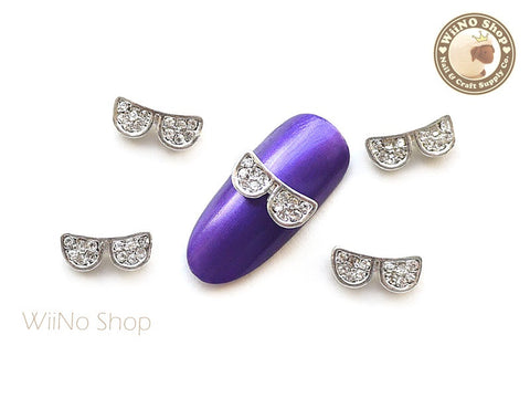 Bling Glasses Nail Metal Charm Nail Art - 2 pcs
