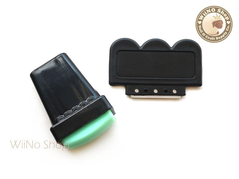 Rectangle Nail Art Stamper & Scraper - 1 set