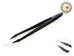Anti-Static Light Weight Point Tip Tweezer Nail Art Tools - 1 pc