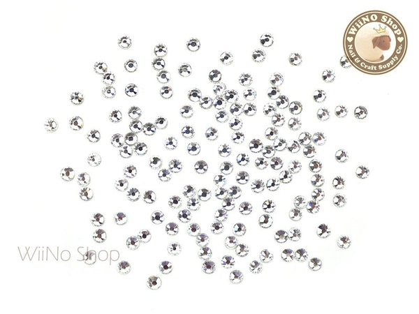 ss10 Clear Crystal Round Flatback - 100 pcs